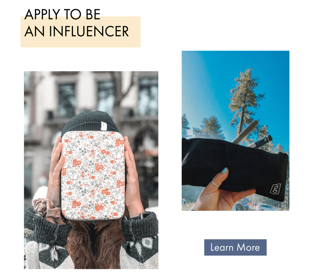 apply to be an influencer