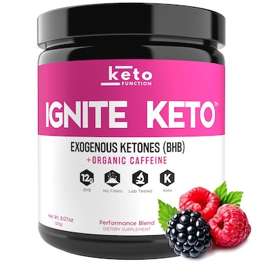 ignite keto best exogenous ketones bhb wild berry