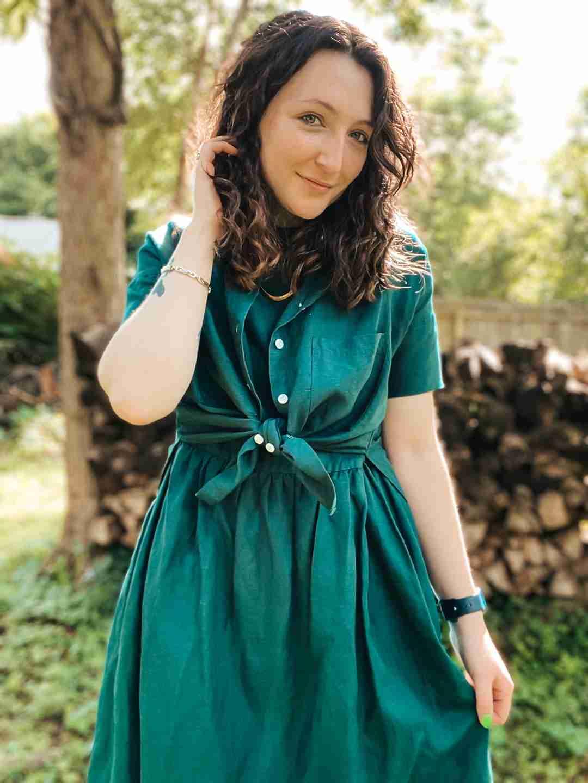 Ambassador Brennan | Nico Dress Emerald