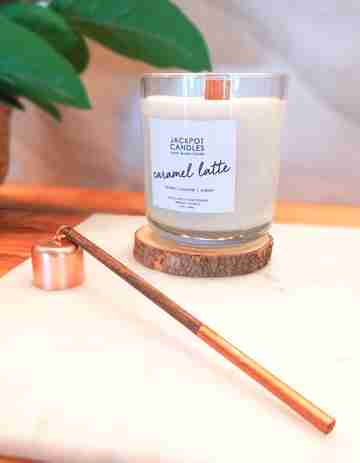 All Done! Caramel Latte Candle