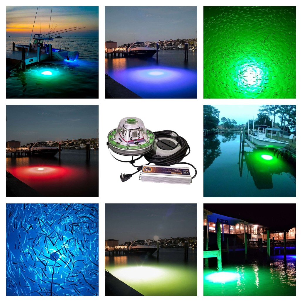 led dock lights illumisea