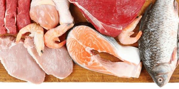 Protein Pork Chicken Beef Fish