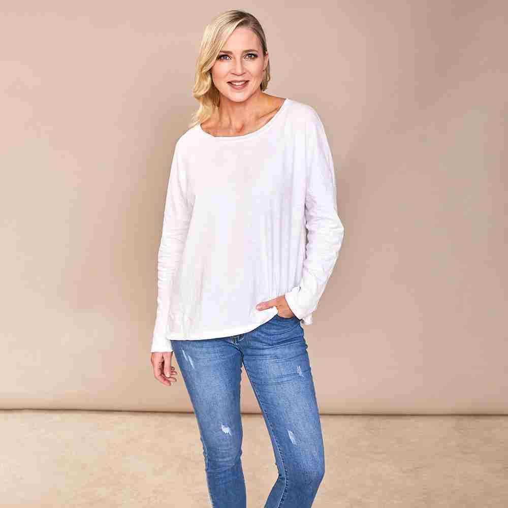 Sarah T-Shirt(White)