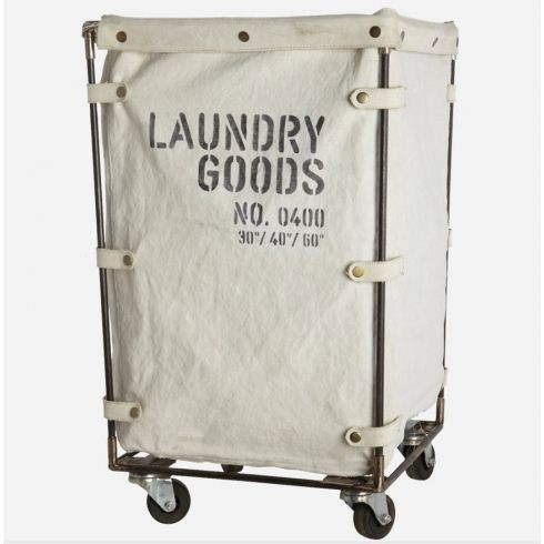 Canvas Laundry Basket