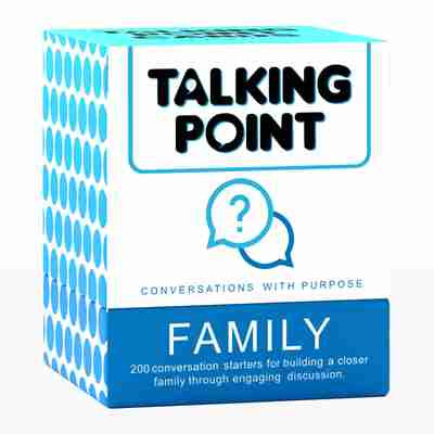 Talking Point Cards: Family Edition