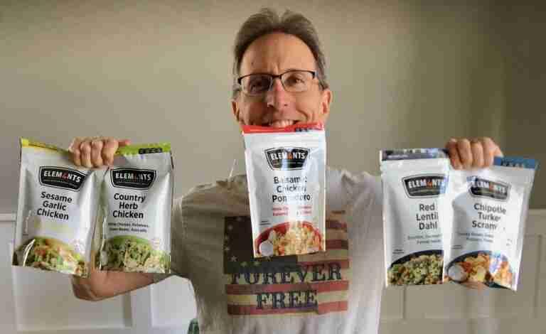 Robert Scott Bell with Elements Meals