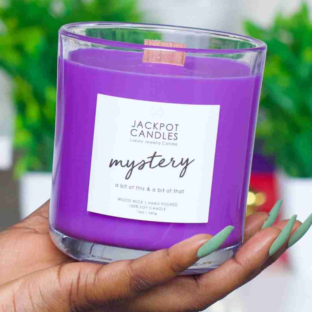 mystery scented candle