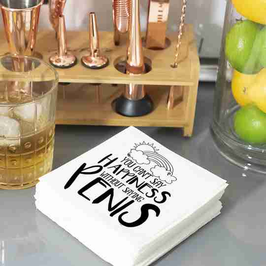 Party Napkins   Twisted Wares®