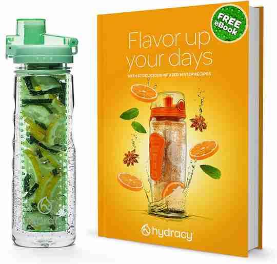 Infuser Water Bottle 25oz - Aqua Green - Ebook