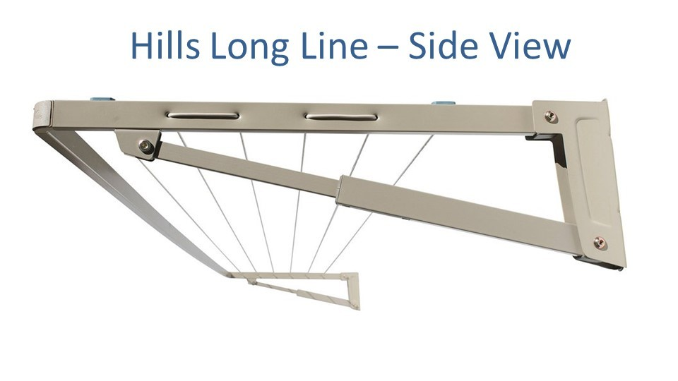 3.1m clothesline hills long side view