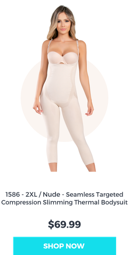 seamless full body shaper light color