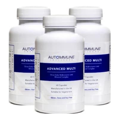 Advanced Multi - Multivitamin and Mineral Complex - Triple Pack