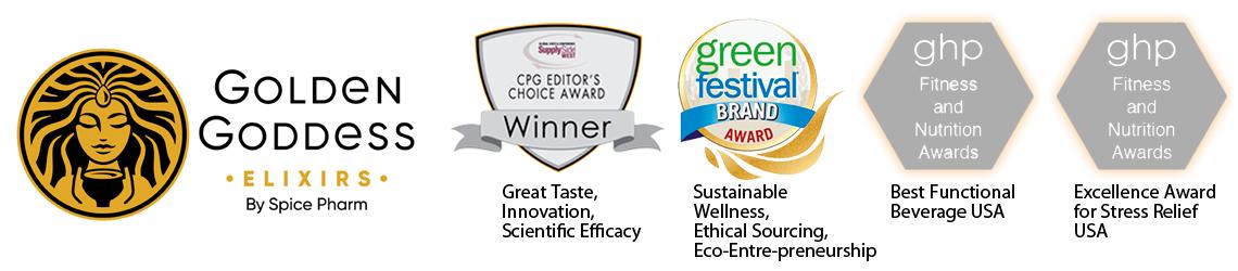Global Award-Winning Golden Goddess Elixirs from Spice Pharm
