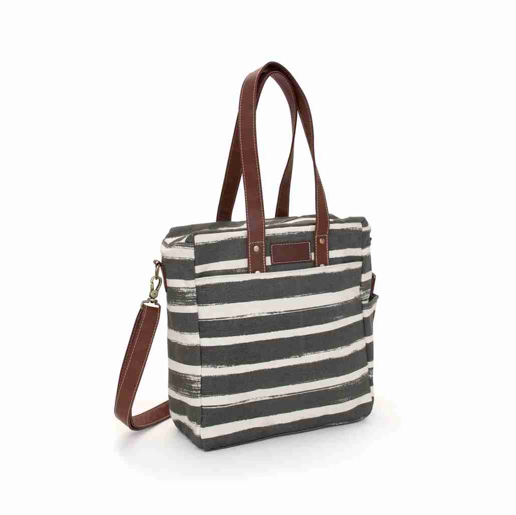 Stripes Commuter Tote