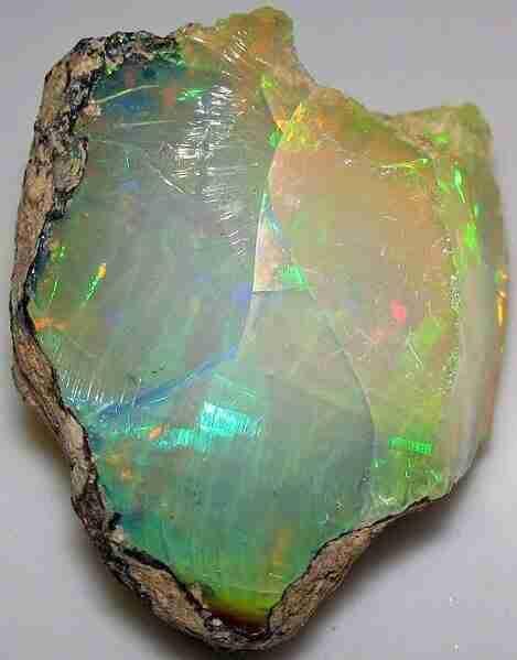 soli opal stone
