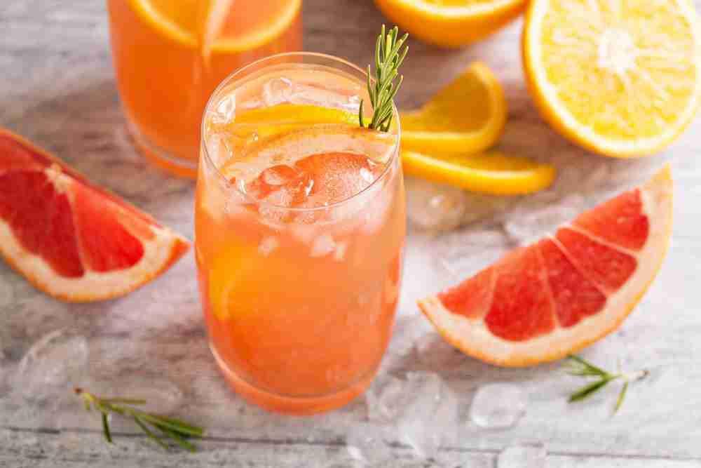 Orange Grapefruit drink