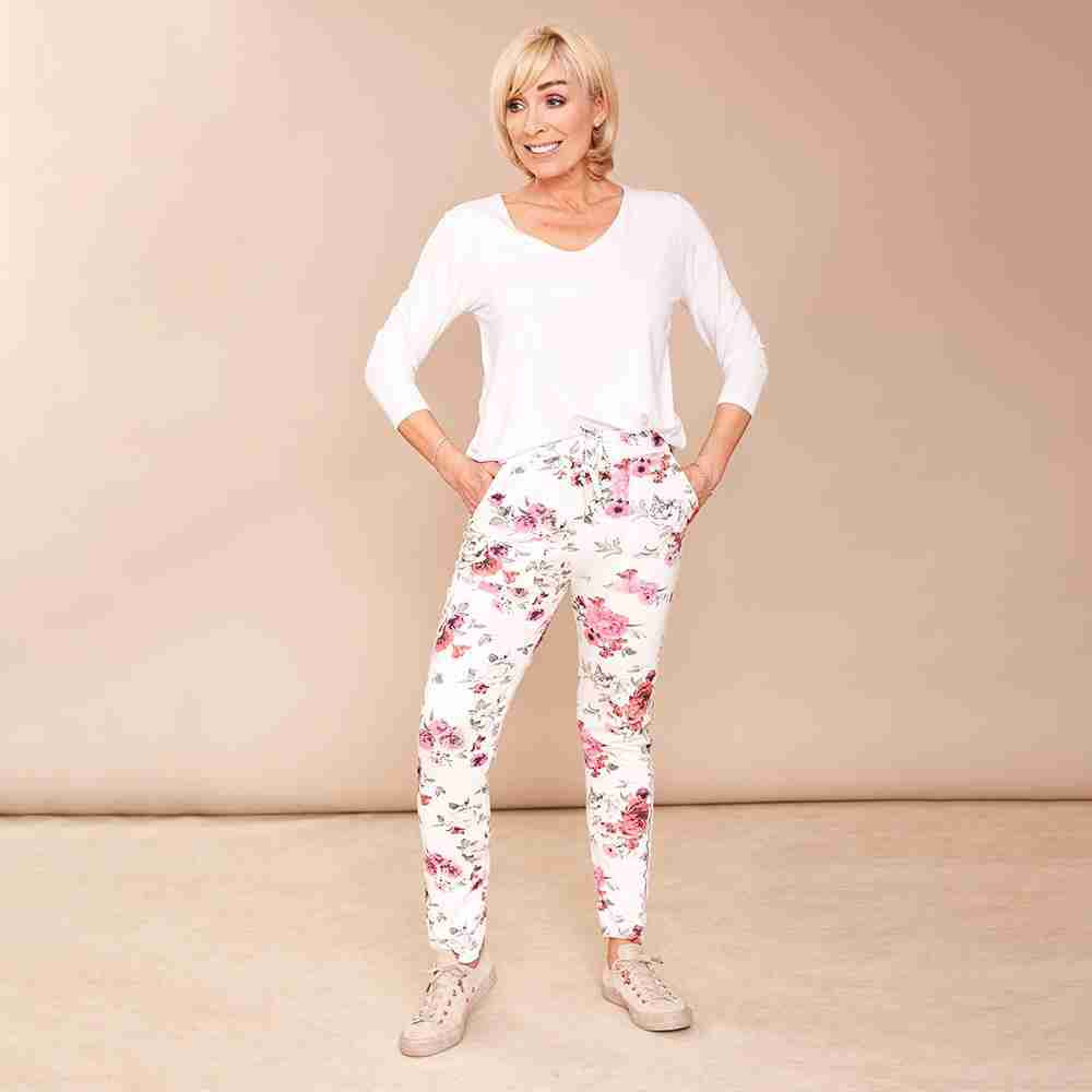 Kelly Joggers(Cerise Pink)