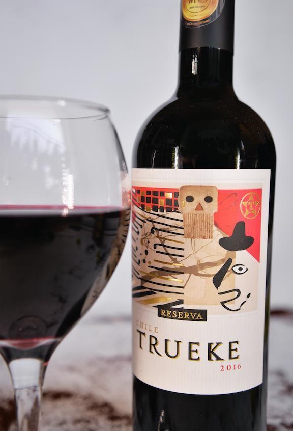 1 botella trueke reserva 2016