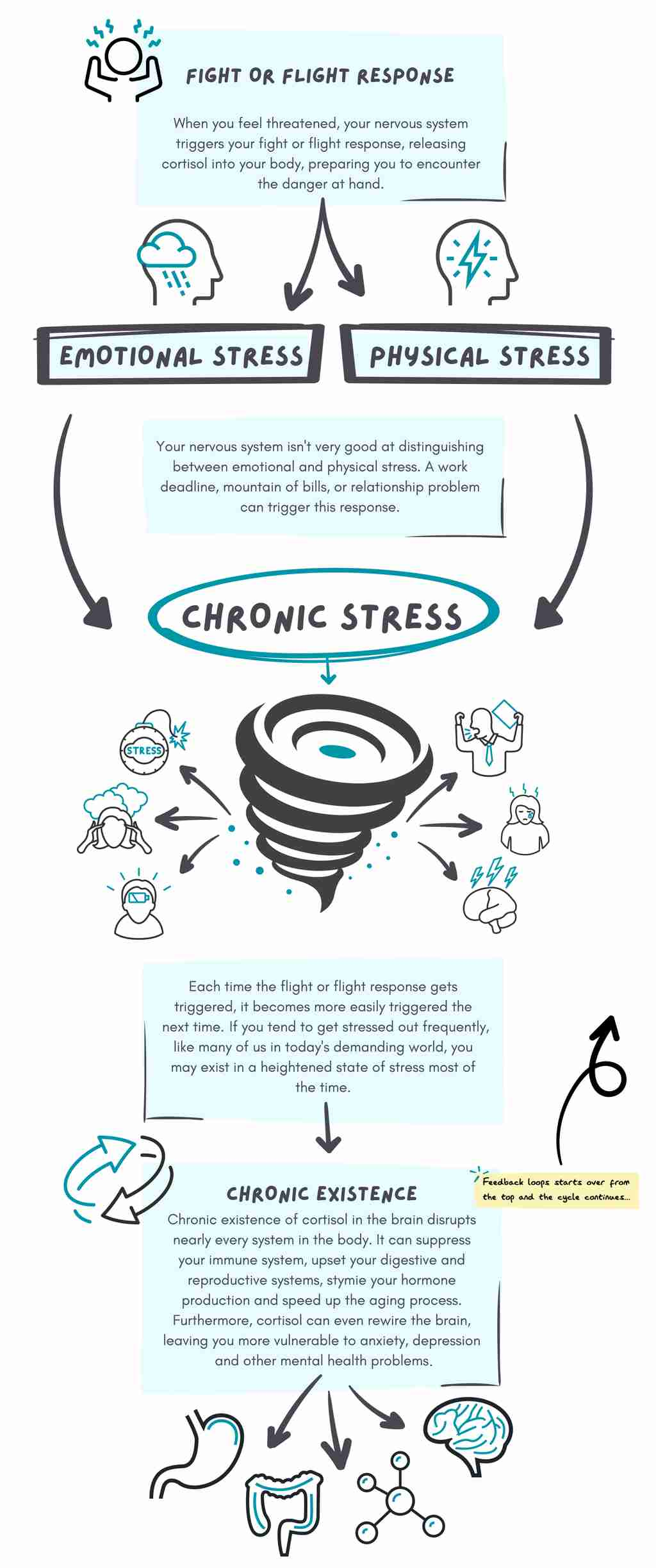 how stress works