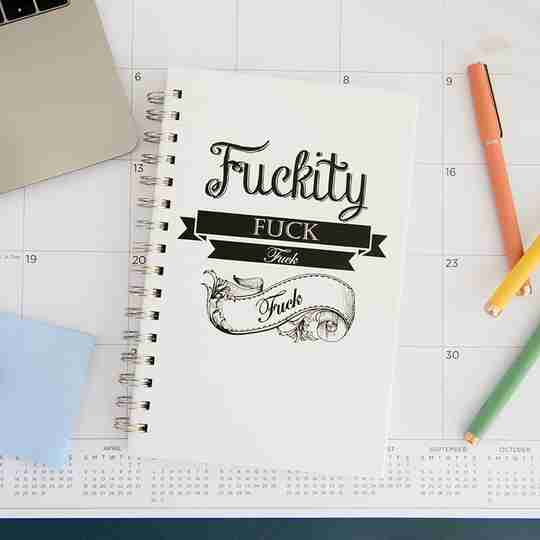 Fuckity Fuck Notebook | Twisted Wares®