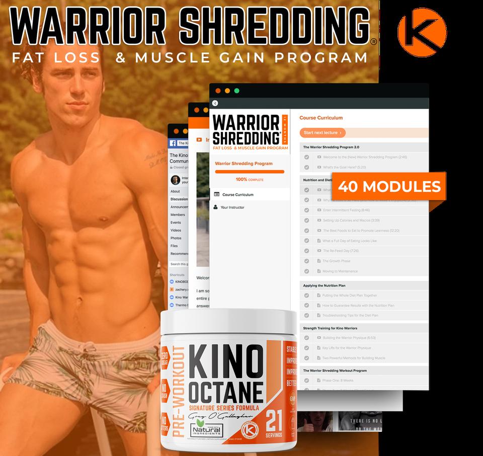 Warrior Shredding Program with 1 Octane