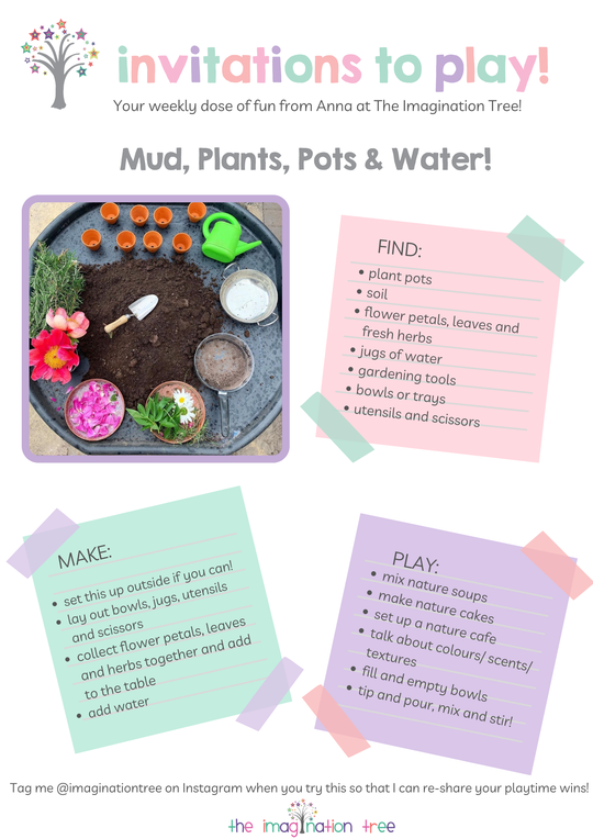 Mud, Plants, Pots and Water!