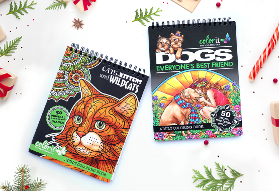 Animal Lovers Coloring Book Bundle