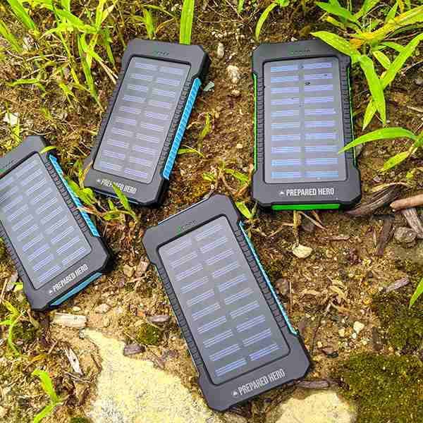 suncharge solar battery charging