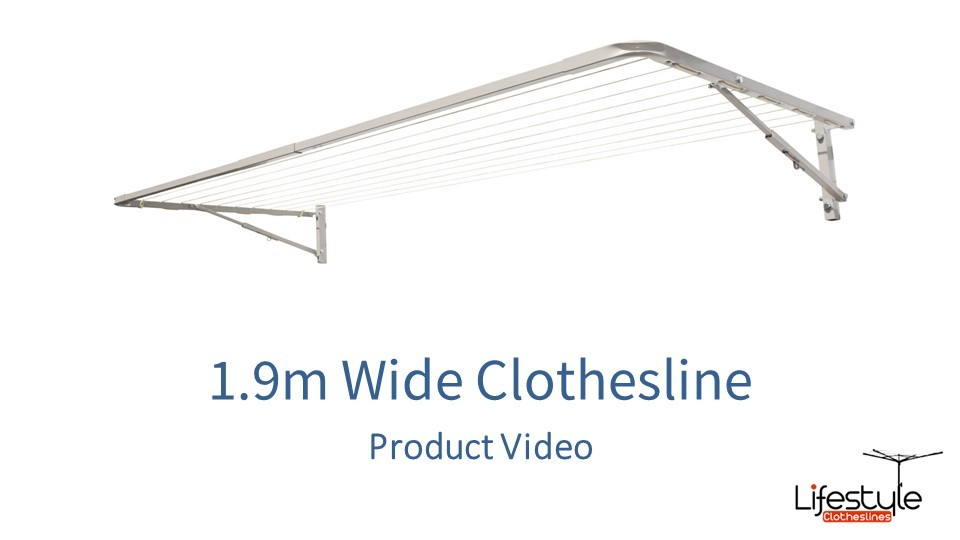 1.9m wide clothesline product link