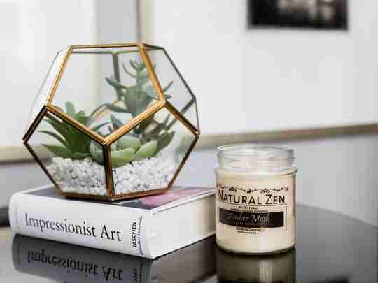 All Natural 10 Oz. Jar Candles