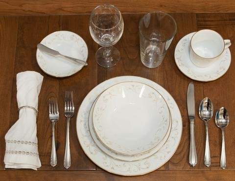 Sophisticated Place Setting