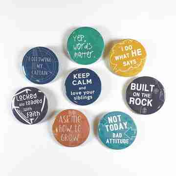 junior bible study buttons