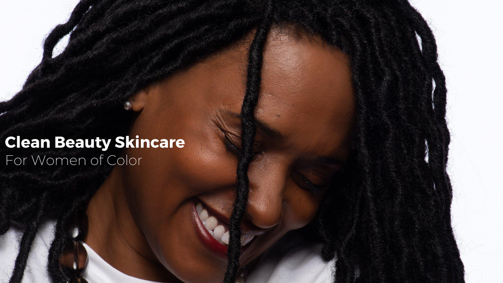 beautiful african american woman - clean beauty for black women - black skincare