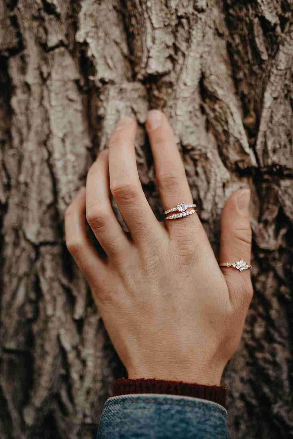 Fall Jewelry - Kathleen Stack Ring