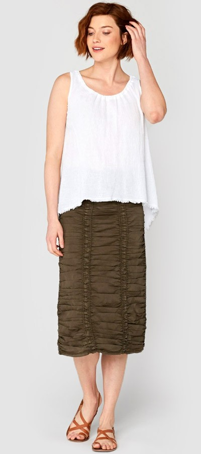 Double Panel Skirt + Wilma Top