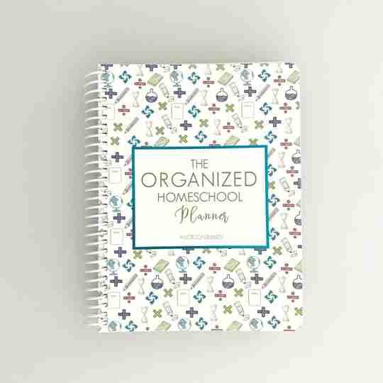 Organized Homeschool Planner