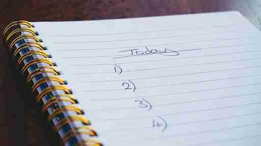 small to do list for motivation accomplishment