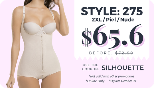 Online Only Shapewear Sale coupon, for the best slimming shaper