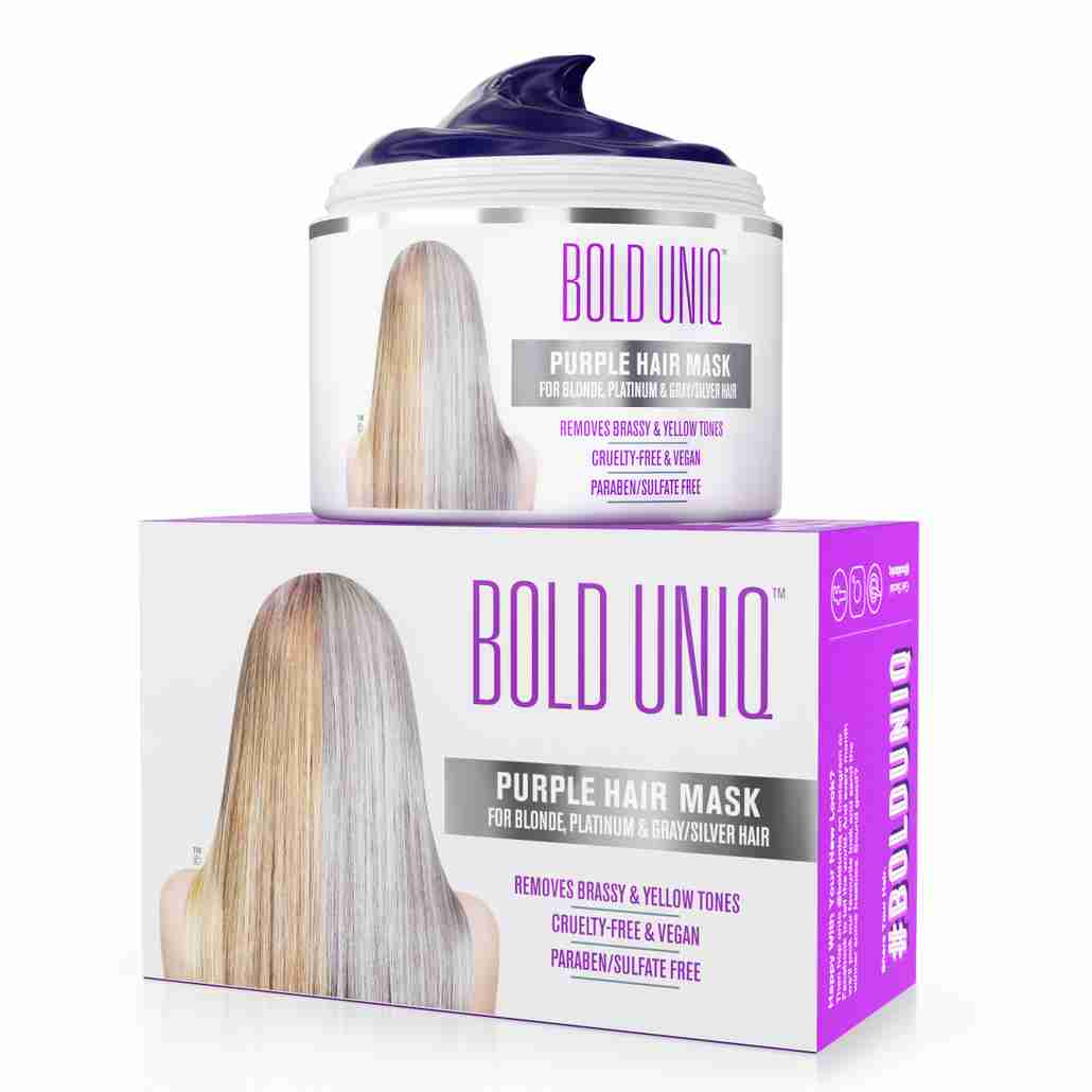 bold uniq purple mask