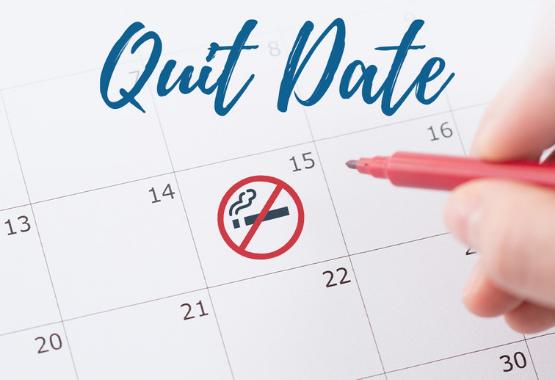 calendar quit date plan
