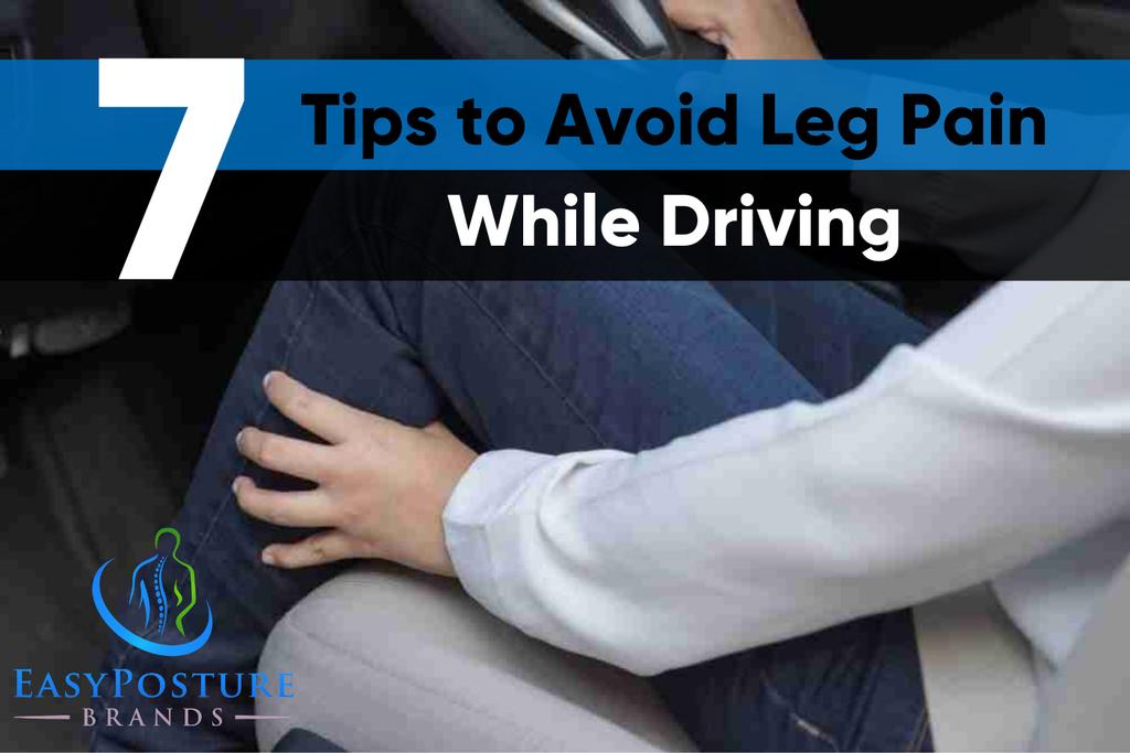 leg pain while driving