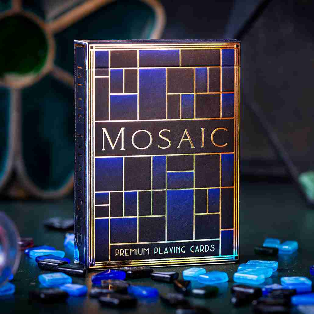 Mosaic Blue Diamond