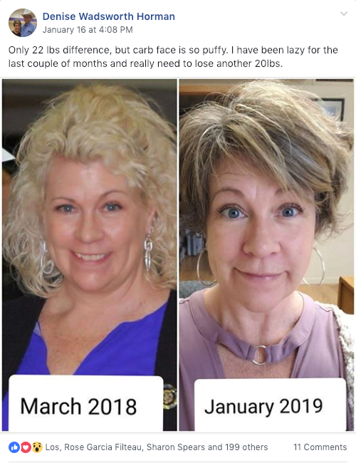 Denise Keto Journey