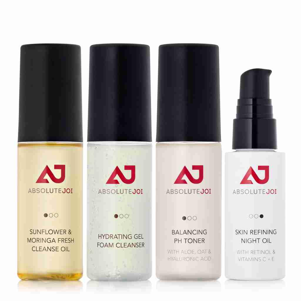 ABSOLUTE JOI SKINCARE STARTER COLLECTION CLEAN BEAUTY BLACK SKINCARE