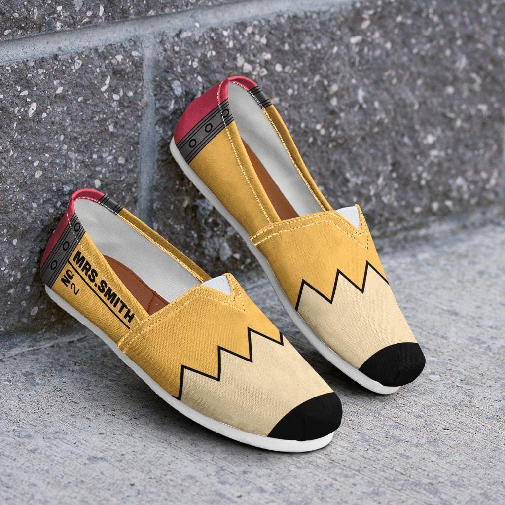 Custom teacher shoes