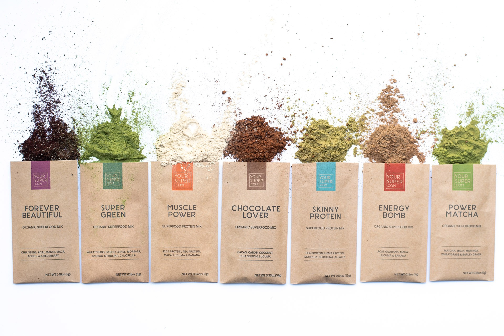 Your Super superfood powders