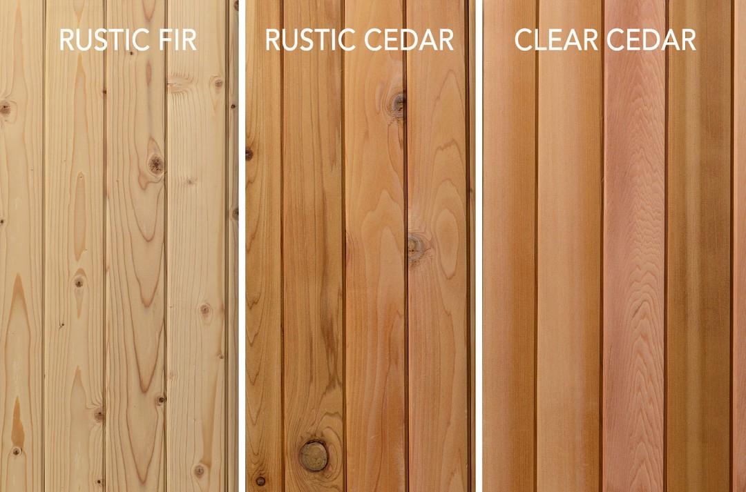 barrel sauna wood types cedar white fir clear cedar barrel sauna