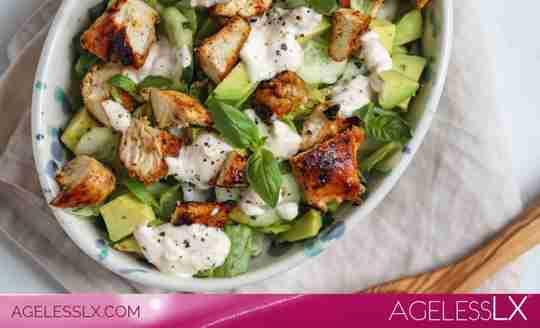 Cucumber, Avocado & Chicken Salad