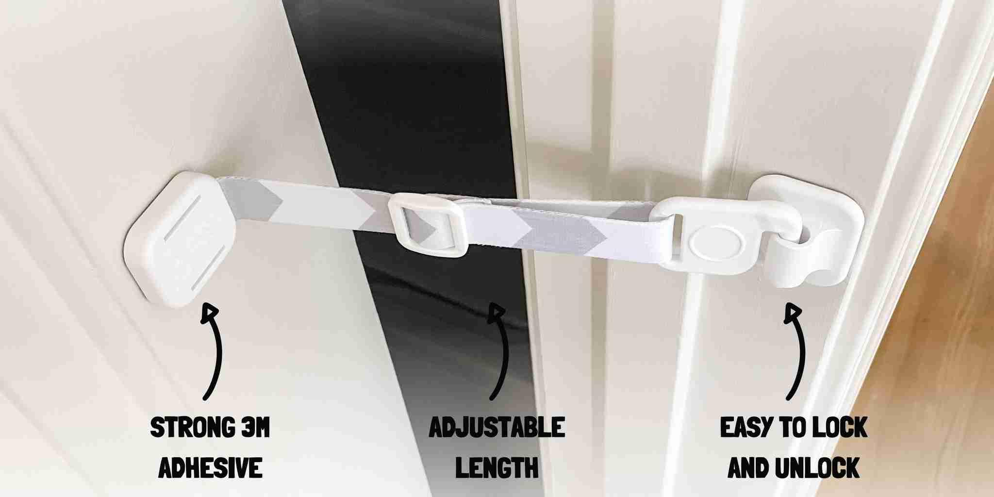 What is Door Buddy? - Adjustable Door Latch