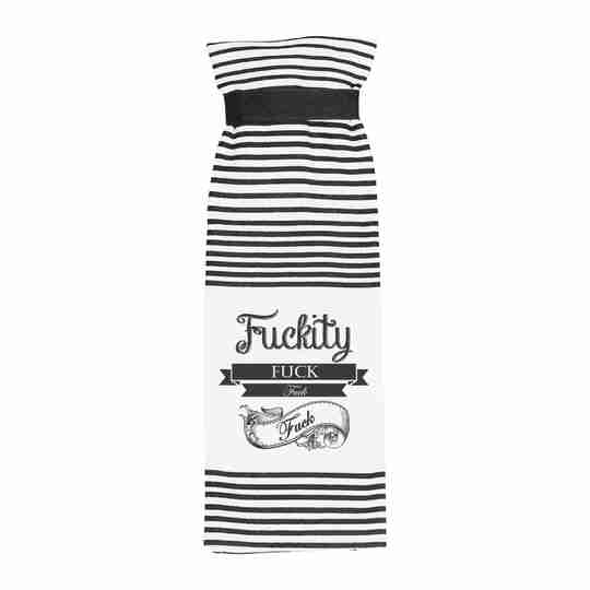 Fuckity Terry Towel   Twisted Wares